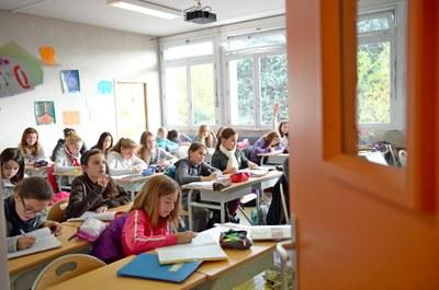 Des salles de classes rénovées