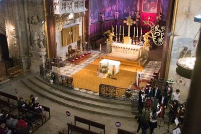1. Célébration à St Siffrein